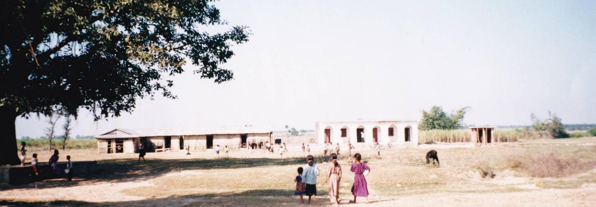 フォスタープランのプロジェクトで建てられた新しい小学校