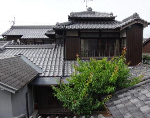奈良市 燻し和瓦から燻し和瓦への葺き替え工事サムネイル