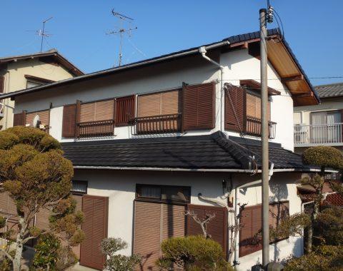 平群町の屋根工事サムネイル