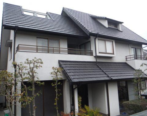 奈良市の屋根瓦葺き替え工事サムネイル