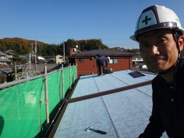 屋根工事日和の晴天サムネイル