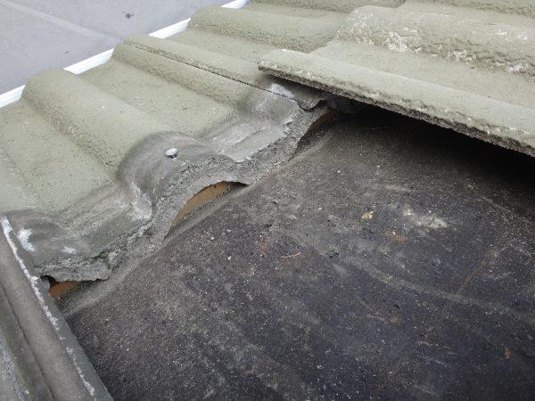 屋根に高圧洗浄をかけると雨漏りする時があります。サムネイル