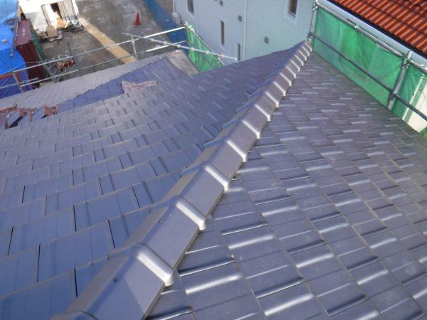 陶器平板瓦の屋根葺きサムネイル