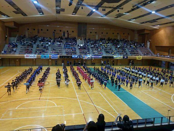 小学生ドッチボールの県大会サムネイル