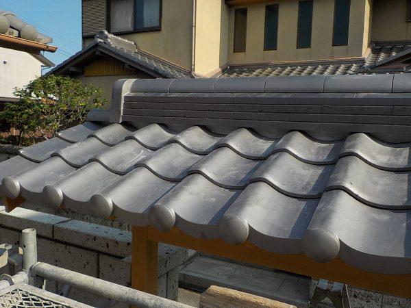 門の屋根工事サムネイル