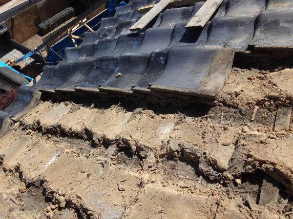 大和郡山市で葺き替え工事の着工ですサムネイル