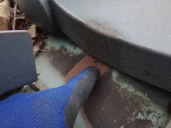 生駒市で応急の雨漏り修理サムネイル
