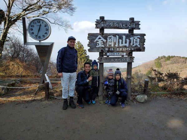 金剛山登山へサムネイル